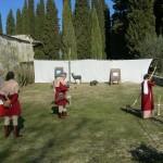 Castello di Nipozzano allestimento e verifiche poligono.