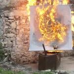 Spettacolo con Frecce incendiarie