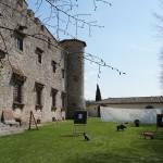 La storia del castello di Meleto e quella dell'arco in una lezione indimenticabile