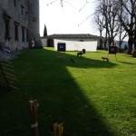 Il poligono di tiro nel Castello di Meleto è pronto